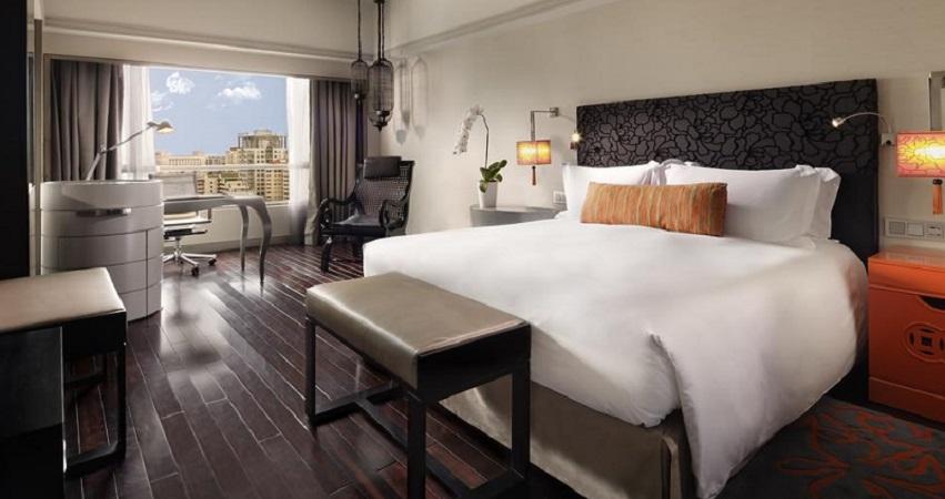 Phòng nghỉ tại Sofitel Plaza Sài Gòn