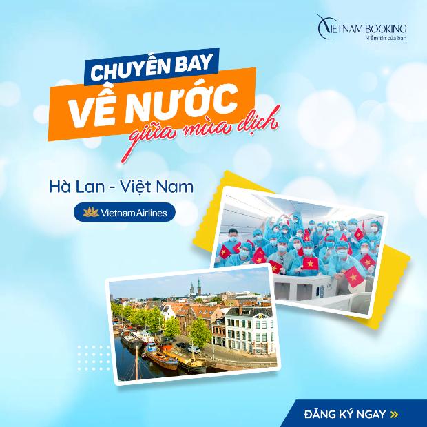Chuyến bay từ Hà Lan về Việt Nam