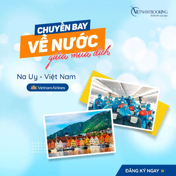 chuyến bay từ Na Uy về Việt Nam