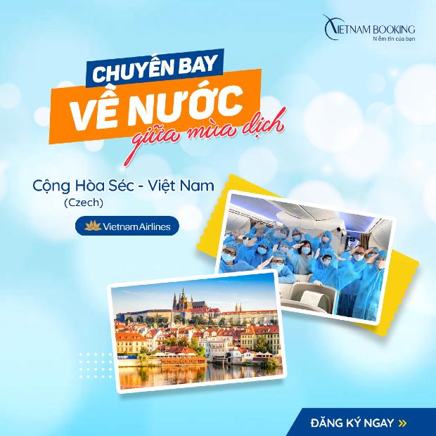 Các chuyến bay từ Séc về Việt Nam