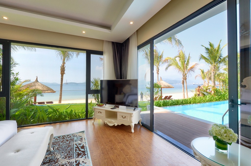 Biệt thự 4 phòng ngủ hướng biển