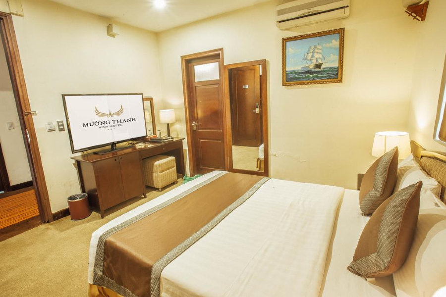 Phòng deluxe Mường Thanh Vinh Hotel Nghệ An