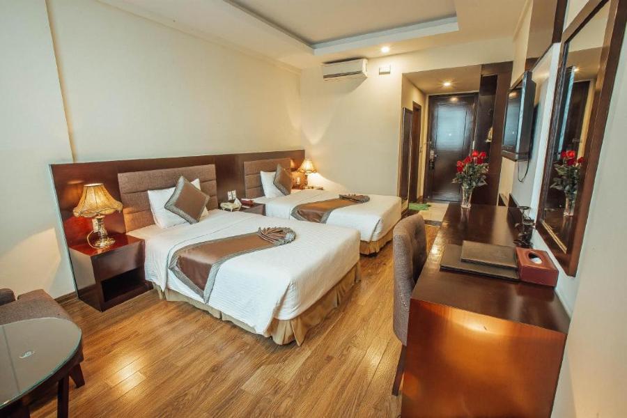 Phòng deluxe 2 giường đơn Mường Thanh Vinh Hotel Nghệ An