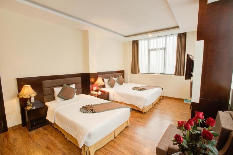 Phòng deluxe 3 giường đơn