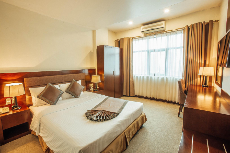 Phòng executive suite Mường Thanh Vinh Hotel Nghệ An