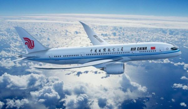 Bay hãng Air China từ Việt Nam sang Pháp mất mấy tiếng?
