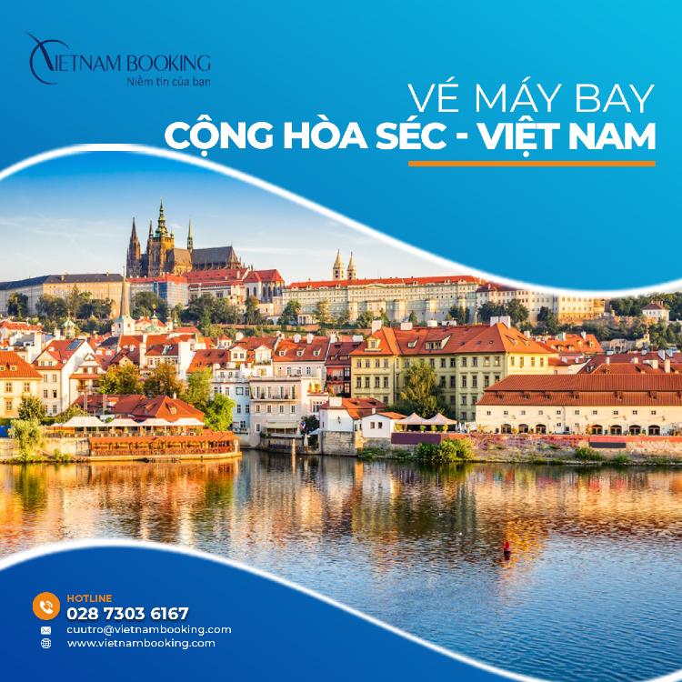 vé máy bay từ Séc về Việt Nam
