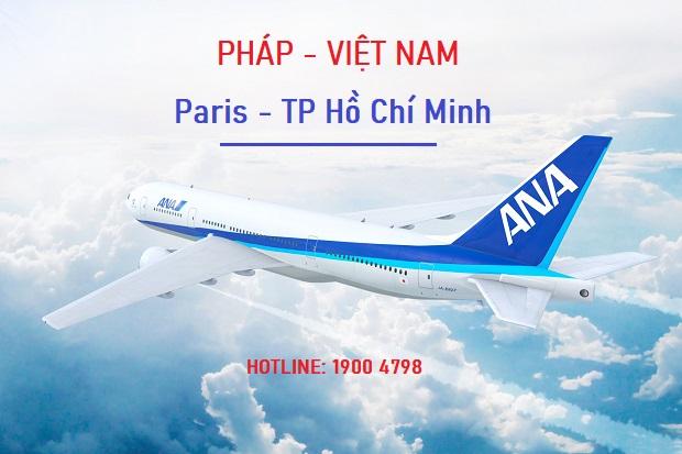 Vé máy bay chuyên gia Pháp về Việt Nam