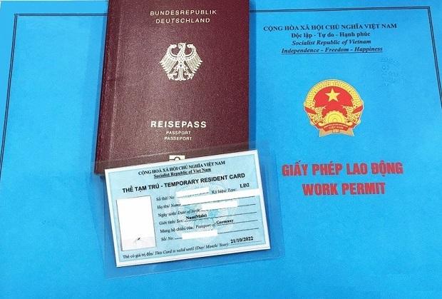 cấp giấy phép lao động cho người nước ngoài