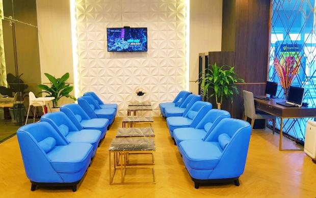 phòng chờ Lotus Lounge sân bay Cam Ranh