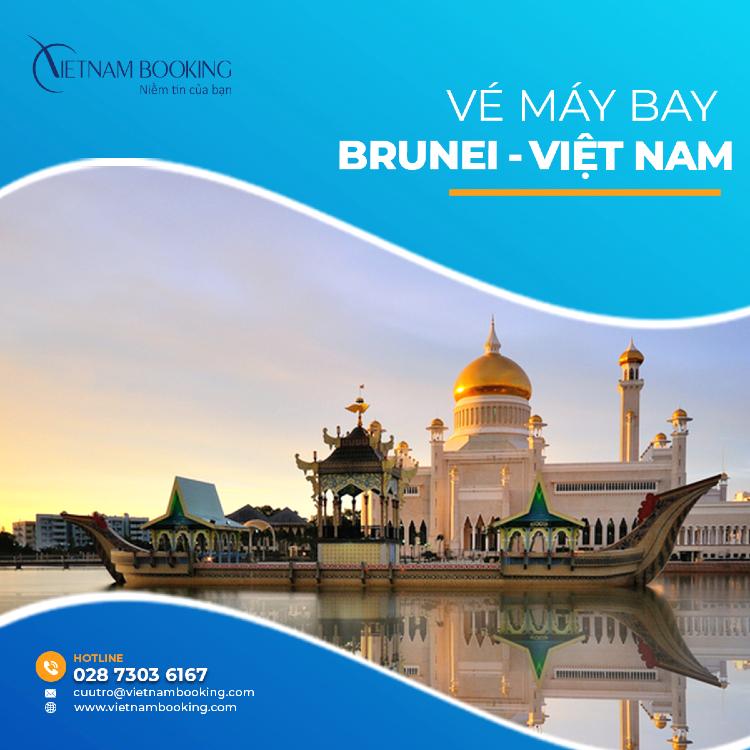 vé máy bay từ Brunei về Việt Nam