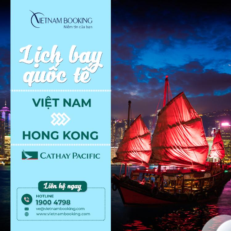 chuyến bay từ Việt Nam đi Hong Kong