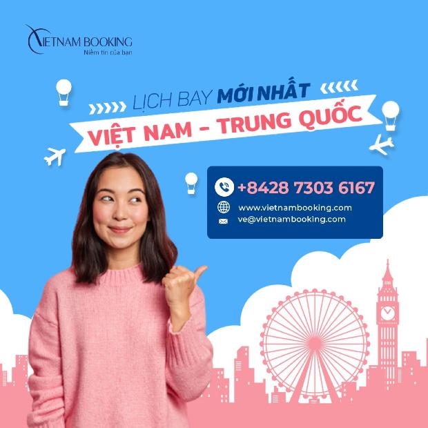 chuyến bay từ Việt Nam đi Trung Quốc