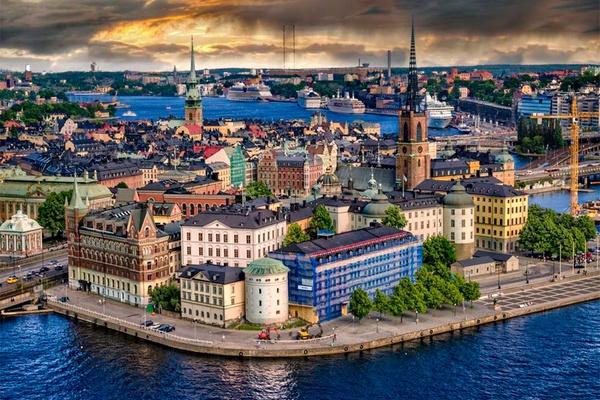 đặt vé máy bay đi stockholm 2021