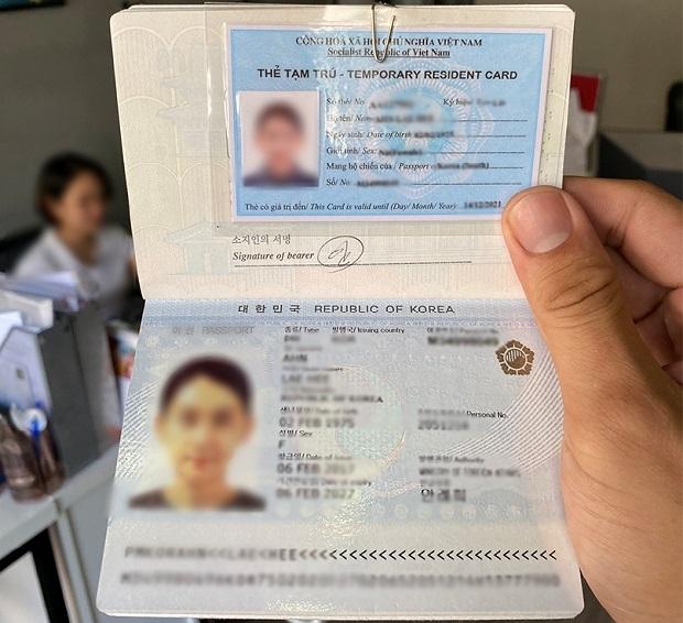 phí đăng ký tạm trú cho người nước ngoài