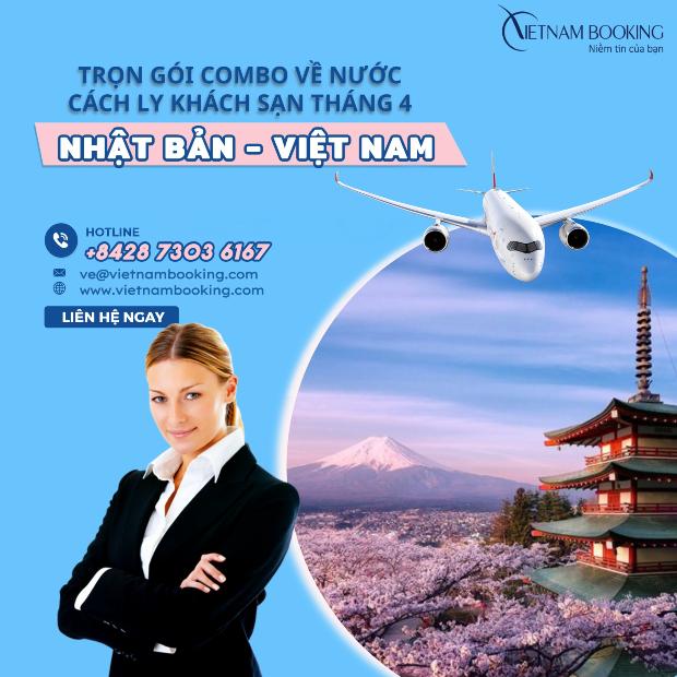 Chuyến bay charter từ Nhật Bản về Việt Nam