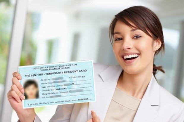 thủ tục gia hạn thẻ tạm trú