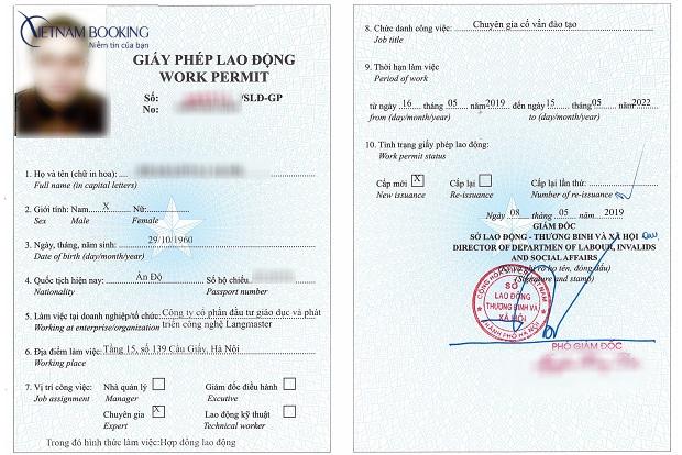 thủ tục xin thẻ tạm trú cho người nước ngoài