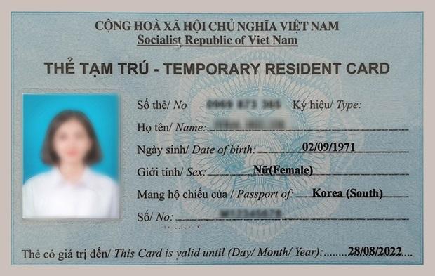 Các loại thẻ tạm trú và tất tần tật thông tin về thẻ tạm trú cho người nước ngoài