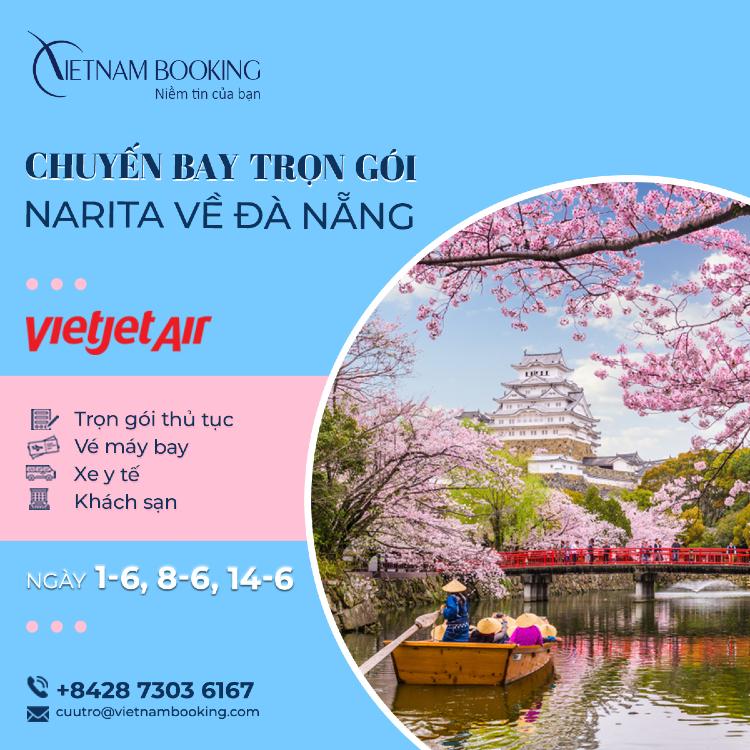 chuyến bay charter từ Tokyo về Việt Nam