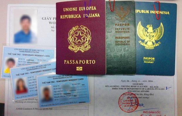Hướng dẫn làm thẻ tạm trú cho người nước ngoài