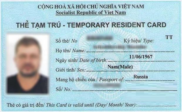 Làm thẻ tạm trú cho chồng là người nước ngoài