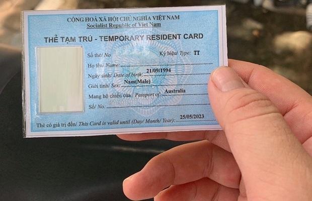 Xin thẻ tạm trú ký hiệu TT cho thân nhân người nước ngoài