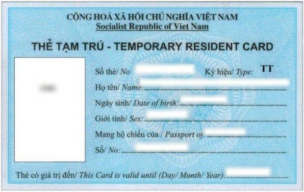 xin thẻ tạm trú tt