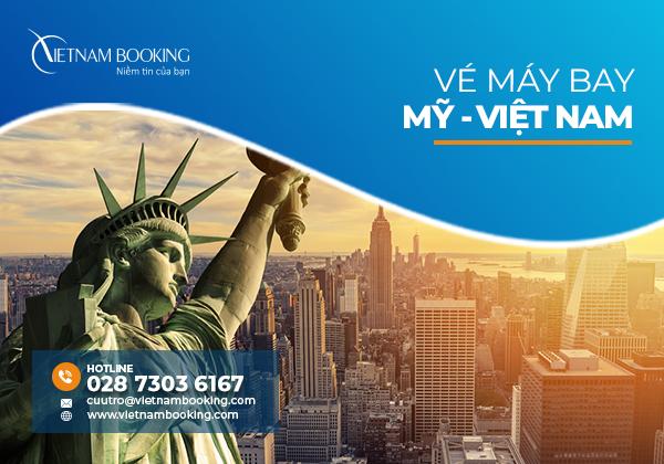 Vé máy bay từ Mỹ về Việt Nam, thông tin chuyến bay tháng 9