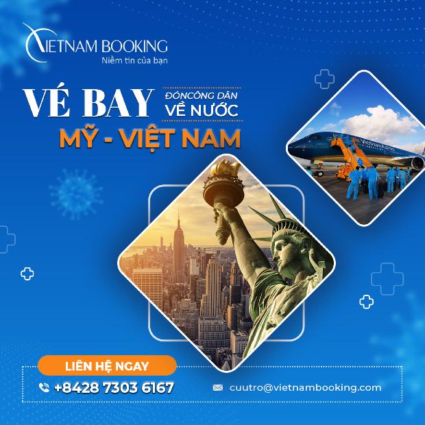 Lịch khai thác chuyến bay từ Mỹ về Việt Nam mới nhất | Tháng 6,7