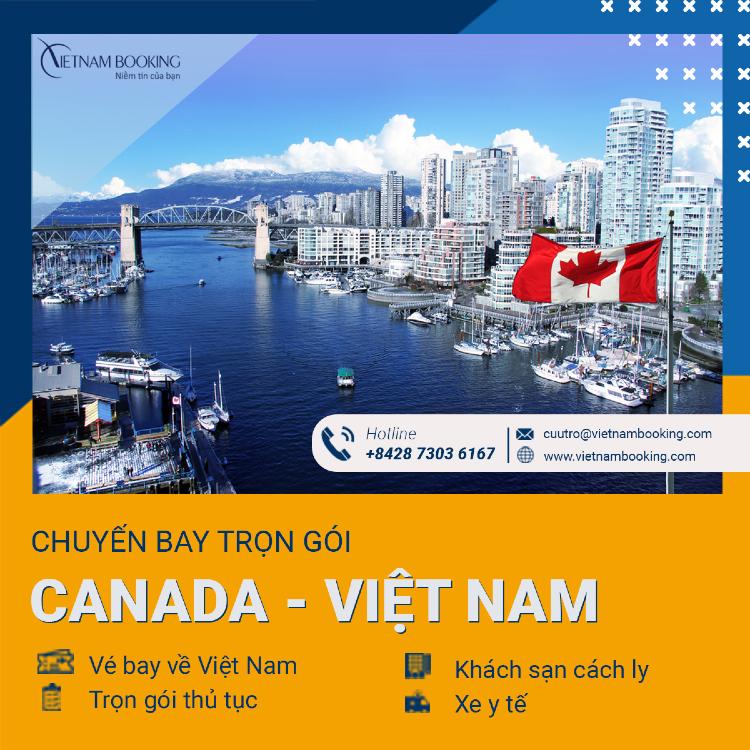 chuyến bay charter từ Toronto về Sài Gòn