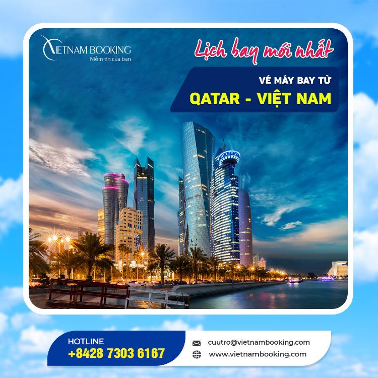 chuyến bay từ Qatar về Việt Nam