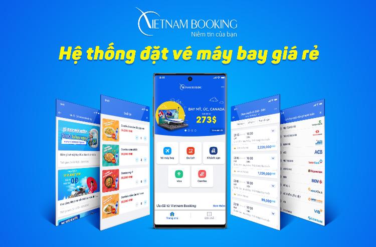 Đặt vé máy bay Vietnam Airlines giá rẻ đơn giản, uy tín