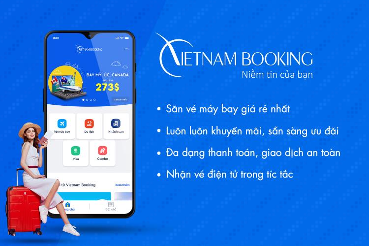 săn vé máy bay Vietnam Airlines